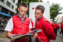 Audi Sport Team Joest Audi R18: Andre Lotterer and Loic Duval