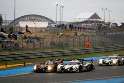 Джон Пью, Освальдо Нери, Лоренс Вантхор, #49 Michael Shank Racing Ligier JS P2 - Honda и Скотт Шарп,