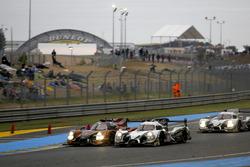 #49 Michael Shank Racing Ligier JS P2 Honda: John Pew, Oswaldo Negri, Laurens Vanthoor; #30 Extreme