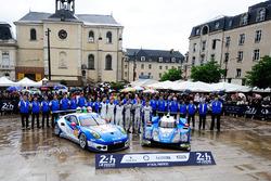 #78 KCMG Porsche 911 RSR: Christian Ried, Wolf Henzler, Joel Camathias, #47 KCMG Oreca 05 - Nissan: