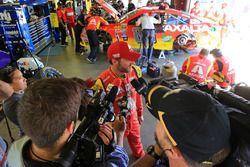 Dale Earnhardt Jr., Hendrick Motorsports Chevrolet después de chocar