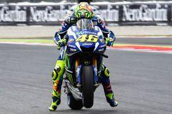 Valentino Rossi, Yamaha Factory Racing, prove di partenza