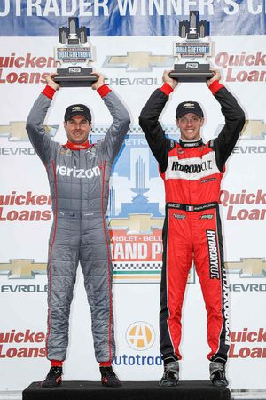 Will Power, Team Penske Chevrolet, Sébastien Bourdais, KV Racing Technology Chevrolet