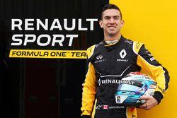 Nicholas Latifi, pilote de réserve Renault Sport F1 Team