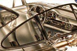 Porsche 959 cutaway - steering wheel detail