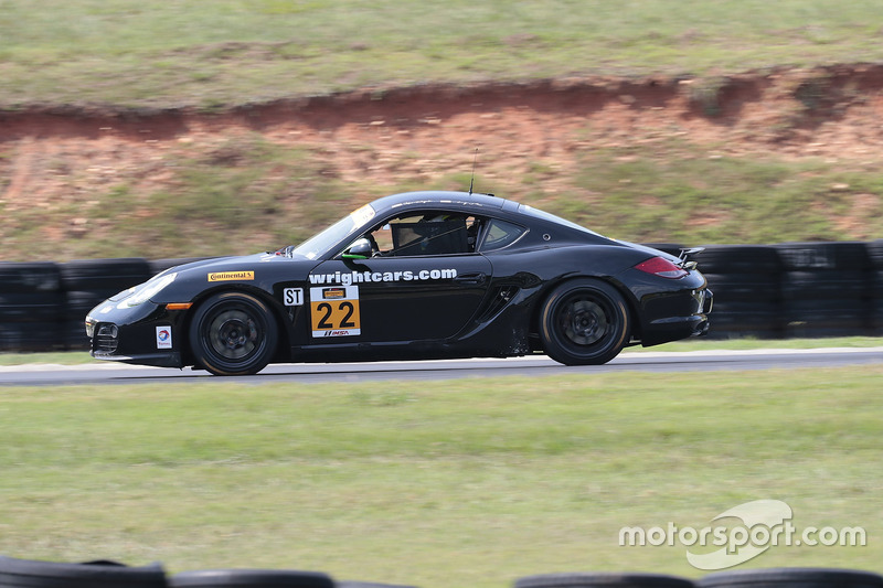 #22 Kris Wright Racing w/ Goldcrest Motorsports Porsche Cayman: Kris Wright, Andy Lee
