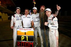 Race winners #1 Porsche Team Porsche 919 Hybrid: Timo Bernhard, Mark Webber, Brendon Hartley, Fritz