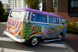 Amor de San Francisco Torres VW bus