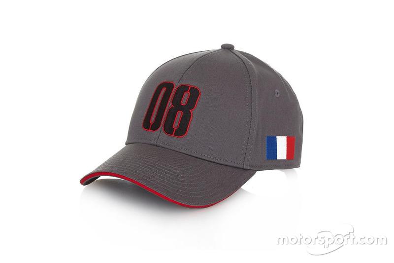 Casquette Haas de Romain Grosjean