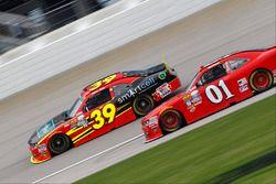 Ryan Sieg, RSS Racing Chevrolet, Ryan Preece, JD Motorsports Chevrolet
