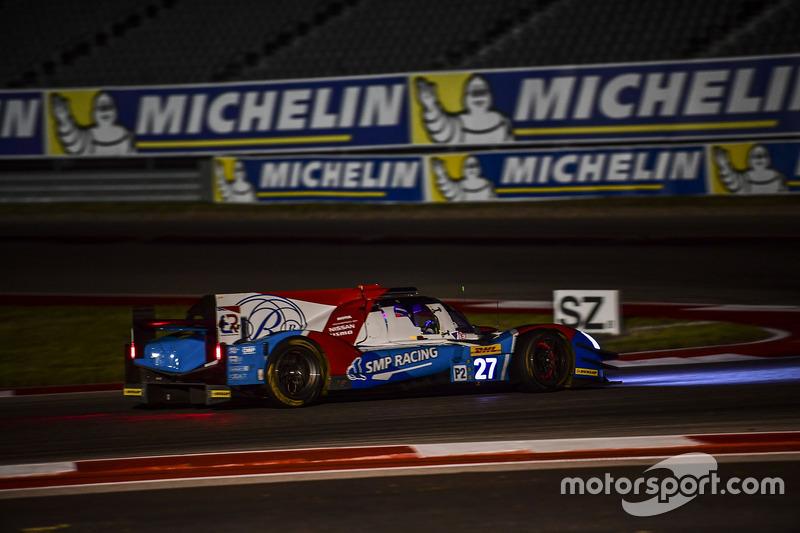 4. LMP2: #27 SMP Racing, BR01 - Nissan: Maurizio Mediani, Nicolas Minassian, David Markozov