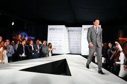 Rio Haryanto, Manor Racing au Amber Lounge Fashion Show.