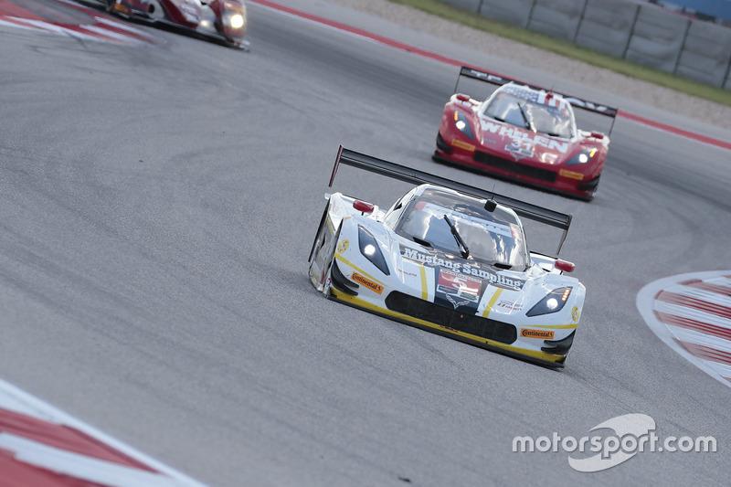 #5 Action Express Racing Corvette DP: Joao Barbosa, Christian Fittipaldi, #31 Action Express Racing Corvette DP: Eric Curran, Dane Cameron