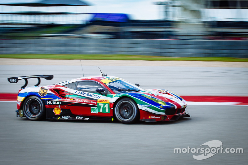 2. GTE-Pro: #71 AF Corse, Ferrari 488 GTE: Davide Rigon, Sam Bird
