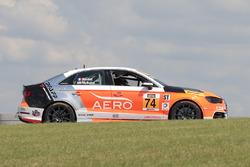 #74 Compass360 Racing Audi S3: Jim McGuire, Nico Rondet