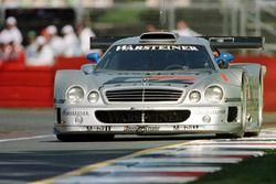 Mark Webber demonstrates the CLK