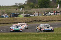 Christian Ledesma, Las Toscas Racing Chevrolet, Matias Jalaf, CAR Racing Torino, Sergio Alaux, Coiro Dole Racing Chevrolet