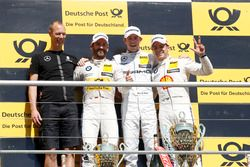 Podium: Winner Paul Di Resta, Mercedes-AMG Team HWA, Mercedes-AMG C63 DTM, second place Timo Glock, BMW Team RMG, BMW M4 DTM; third place Augusto Farfus, BMW Team MTEK, BMW M4 DTM
