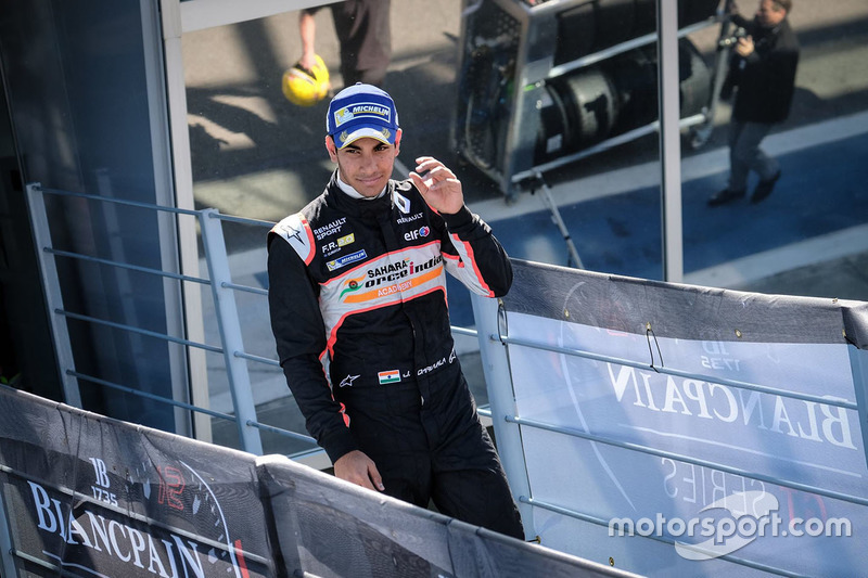 Second place Jehan Daruvala, Josef Kaufmann Racing