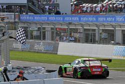 Winner #222 Scott Taylor Motorsport Mercedes-AMG GT3: Craig Baird, Scott Taylor