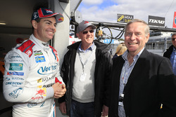 Craig Lowndes, Triple Eight Race Engineering Holden with Colin Barnett, West Australian Premier