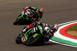Jonathan Rea, Kawasaki Racing Team, und Tom Sykes, Kawasaki Racing Team