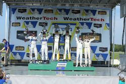 GTLM Podium: race winners Antonio Garcia, Jan Magnussen, Corvette Racing, second place Joey Hand, Di