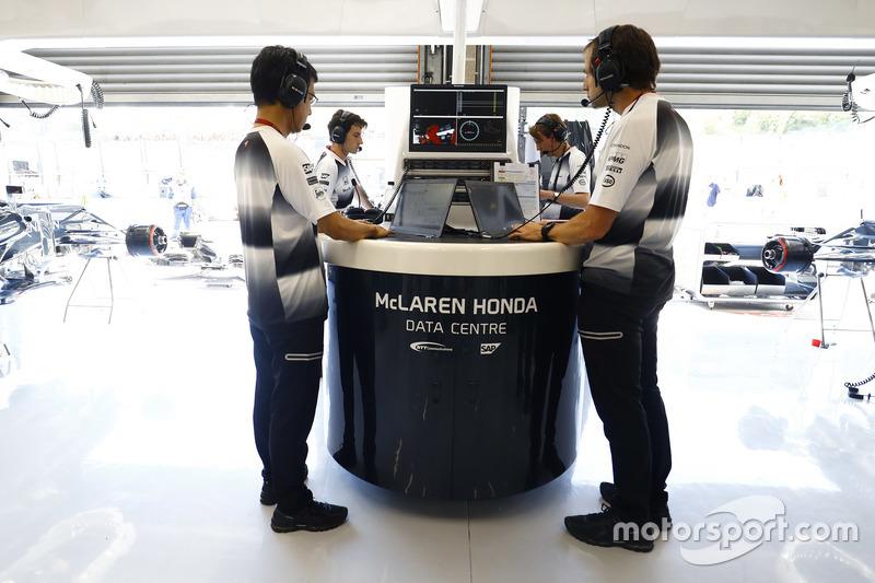 Ciaron Pilbeam, McLaren Chefrenningenieur