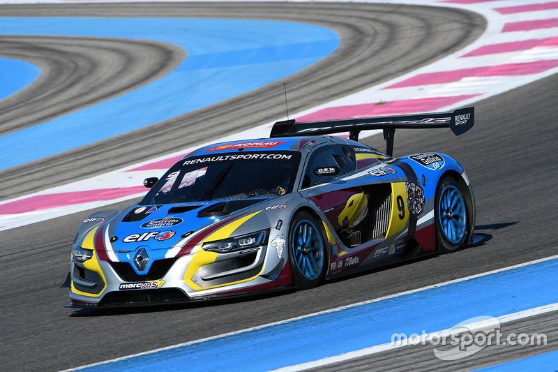 #9 Team Marc VDS Renault RS01: Renaud Kuppens, Fabian Schiller