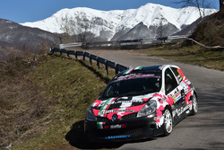 Corinne Federihi e Jasmine Manfredi, Renault Clio R3c, BF Rally
