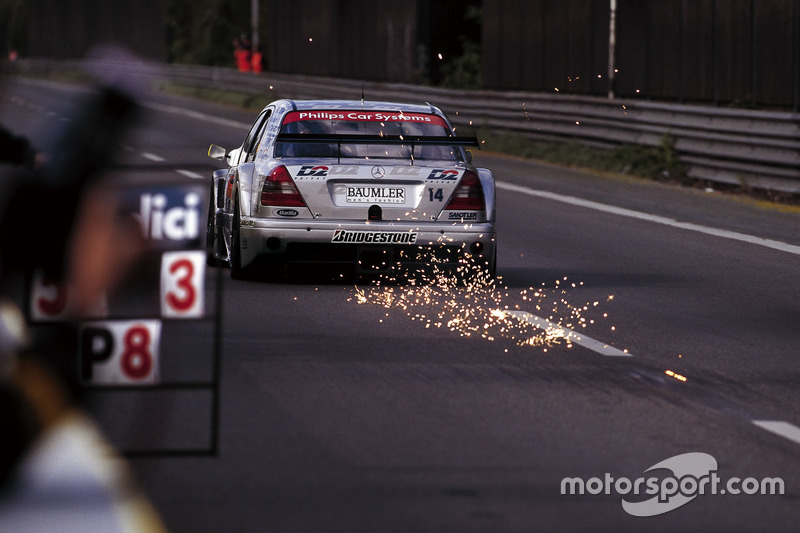 DTM, AVUS 1995: Bernd Schneider, AMG, Mercedes C-Klasse