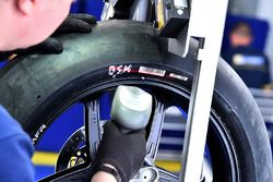 Michelin MotoGP tire test