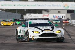 #98 Aston Martin Racing Aston Martin Vantage GT3: Paul Dalla Lana, Pedro Lamy, Mathias Lauda, Richie