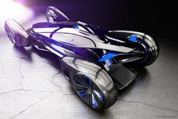 E-Lecktron Formula E Concept Racing Car