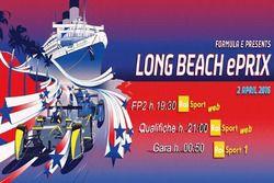 ePrix di Long Beach, la locandina RAI