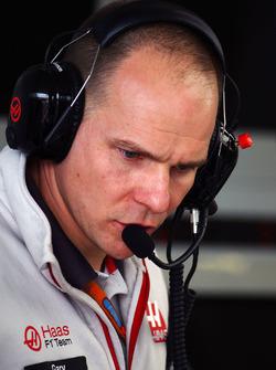 Gary Gannon, Haas F1 Team, Renningenieur