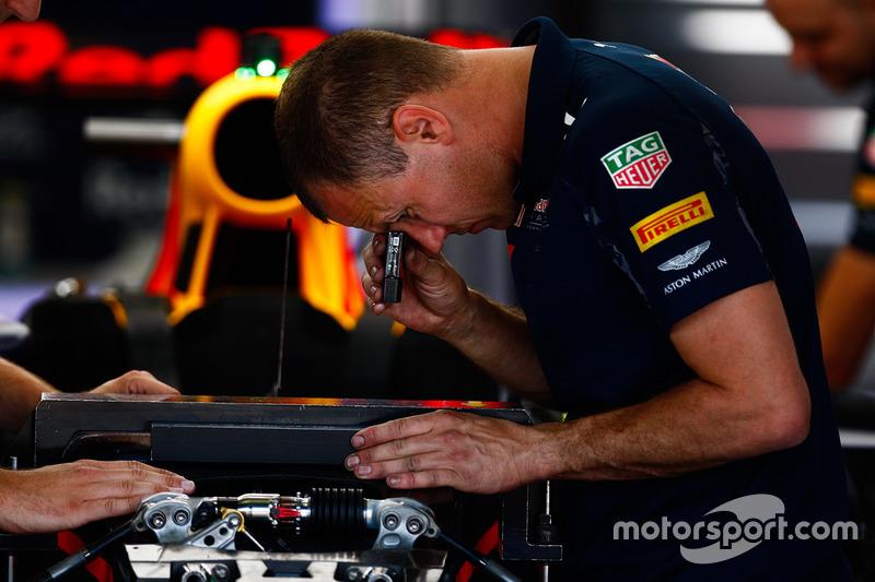 Red Bull Racing mekanikeri