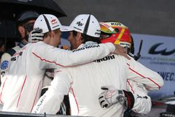 Тимо Бернхард, Марк Уэббер и Брендон Хартли, Porsche 919 Hybrid