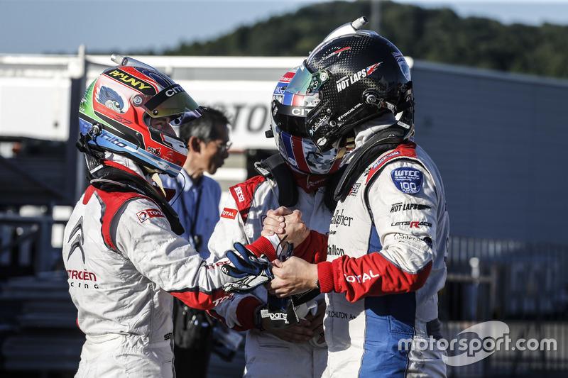 MAC3 pole: José María López, Yvan Muller, Tom Chilton, Citroën World Touring Car Team, Citroën C-Elysée WTCC