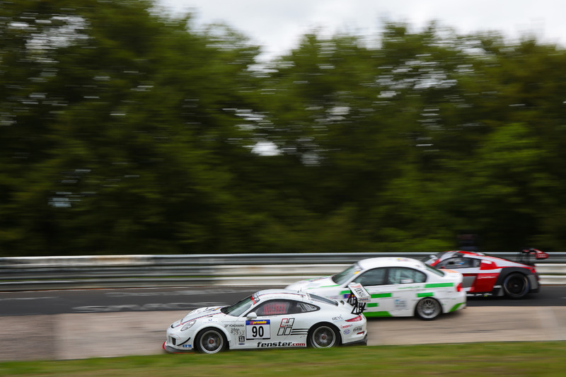 Reinhard Huber, Diego Romanini, Lorenzo Rocco di Torrepadula, Porsche 991 GT3 Cup