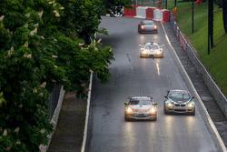 Peter Terting, Jörg Viebahn, PROsport Performance, Porsche Cayman PRO4 GT4; Jan Kasperlik, Dietmar Lackinger, Allied Racing BMW M3 GT4