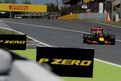 Daniel Ricciardo, Red Bull Racing RB12 avec de la peinture flow-viz