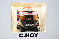 #25 Algarve Pro Racing, Ligier JSP2 Nissan: Chris Hoy, Helm