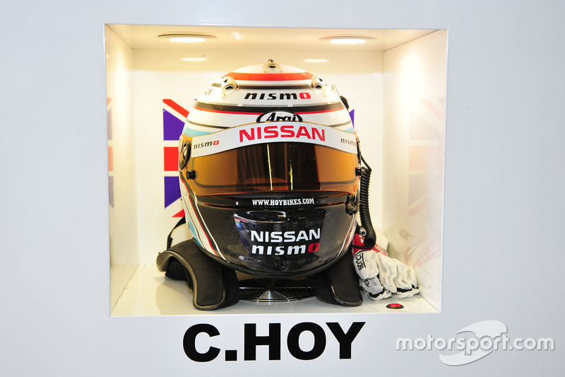 #25 Algarve Pro Racing, Ligier JSP2 Nissan: Chris Hoy, Helm