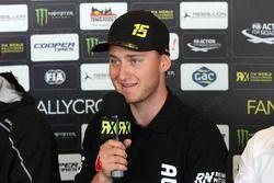 Reinis Nitiss, Münnich Motorsport, en conférence de presse