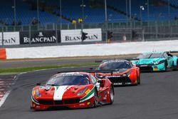 #53 AF Corse, Ferrari 488 GT3: Ishikawa Motoaki, Lorenzo Bontempelli, Giancarlo Fisichella