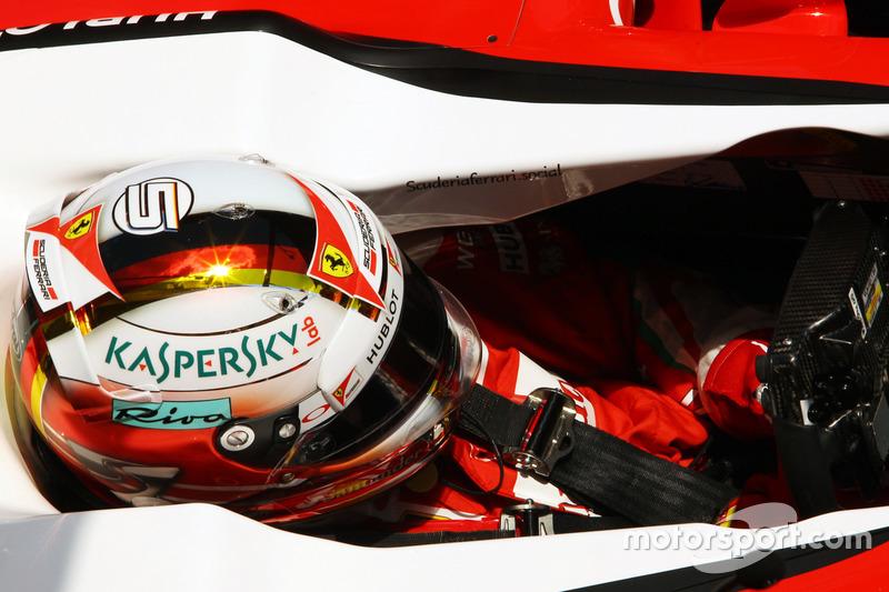 Espagne 2016 - Sebastian Vettel, Ferrari