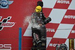 Podium : deuxième place pour Johann Zarco, Ajo Motorsport