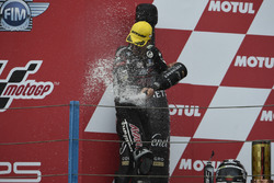 Podium: second place Johann Zarco, Ajo Motorsport
