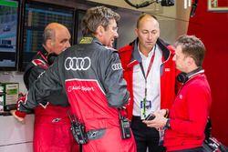 Audi Sport Team Joest: Dr. Wolfgang Ullrich, Ralf Jüttner y Allan McNish
